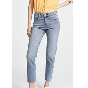 NWT Levi's wedgie icon jeans in twisted fate